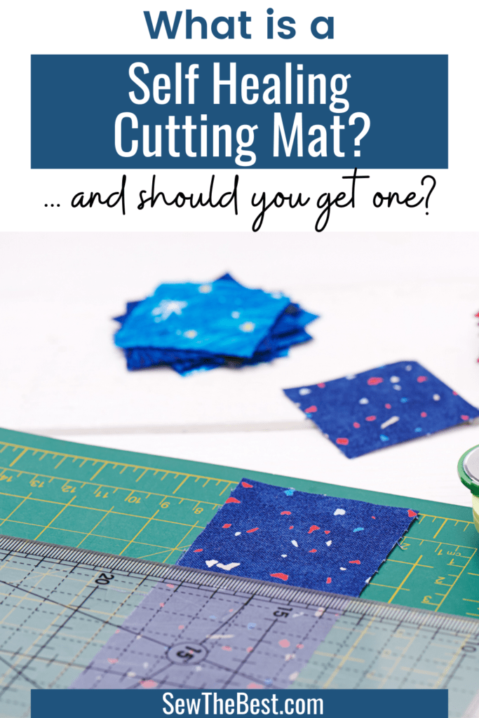 What is a self healing cutting mat? How does a self healing mat work? Should you get a self healing cutting mat for your DIY projects? #AD #Sewing #SewingTools